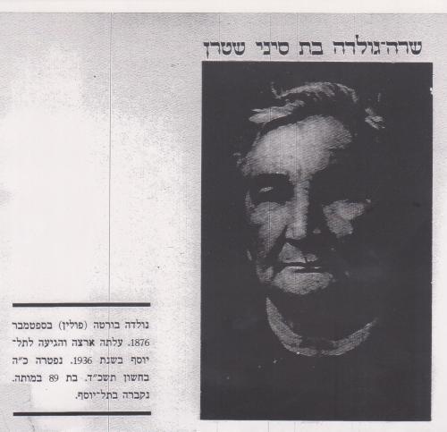 שרה גולדה שטרן